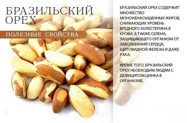 Бразильский орех...