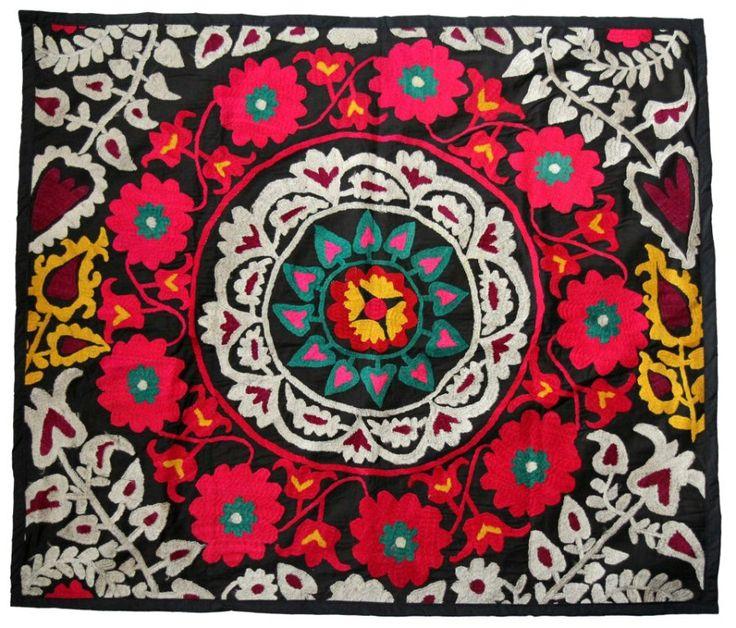 GlobeIn: Handmade Suzani from the south tajik regions #globein