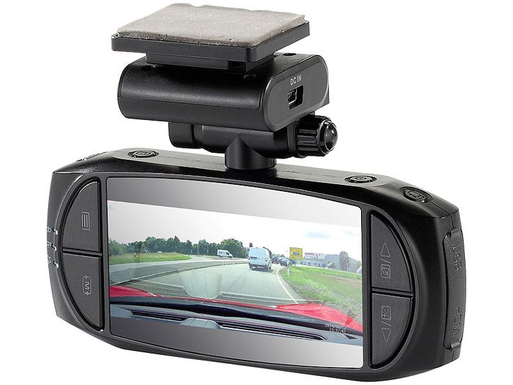 NavGear Super-HD-Dashcam MDV- 3300.SHD, G-Sensor, Weitwinkel, GPS