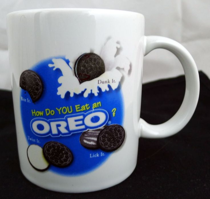 Oreo Cookie Nabisco Brand Coffee Cup Mug #Nabisco
