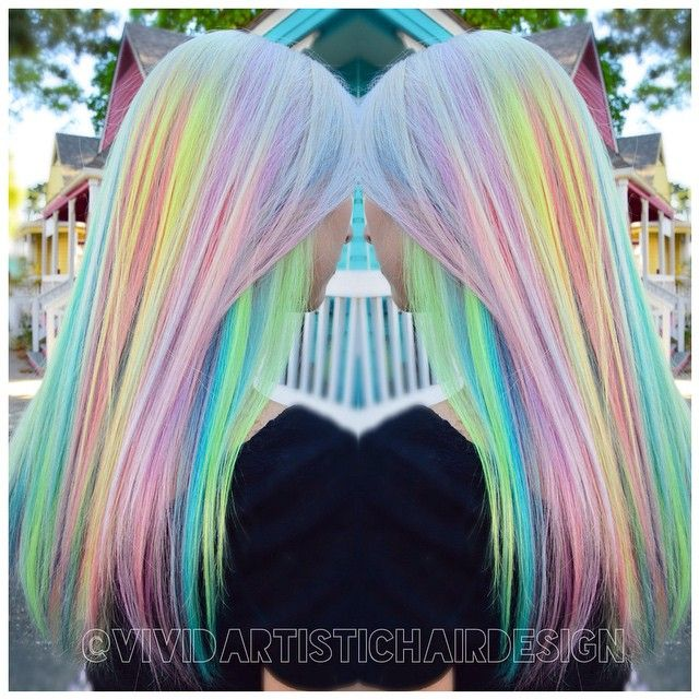 64 Best Hairstyles Images On Pinterest Colourful Hair Coloured