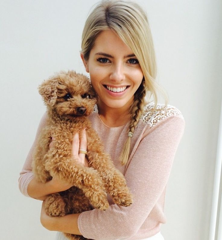"""""""I may not be an ACTUAL mum, but I sure feel like one."""" mollie King and her adorable pup, Alf  (Repin if you can relate )"""