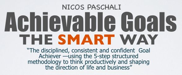 Creating Achievable Outcomes Learn how to think productively and setup direction in your life and business - See more at: http://www.nicospaschali.com/event-registration/?ee=22#sthash.jEWGmWj5.dpuf