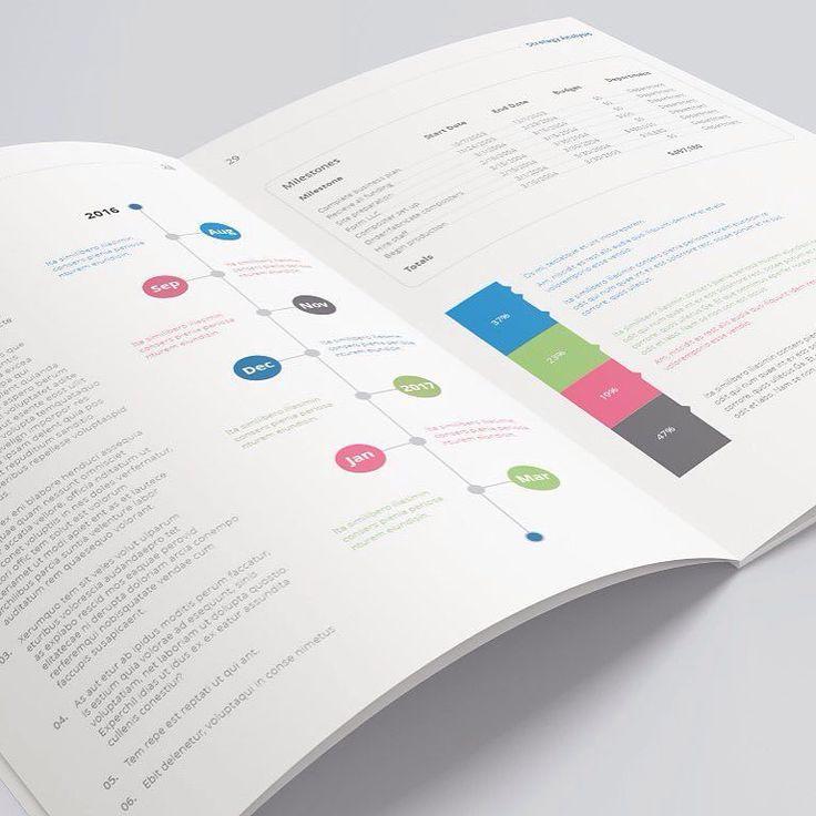 business plan print template brochure corporate