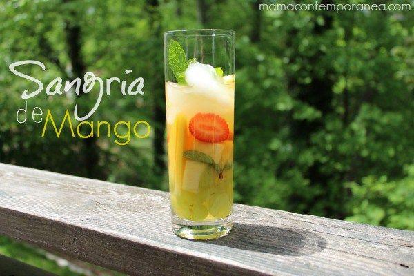 Sangría de Mango - Mamá Contemporánea