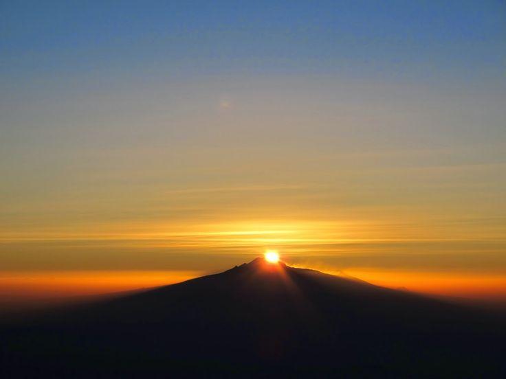 El Monte Tláloc y el inesperado reflejo de la montaña fantasma