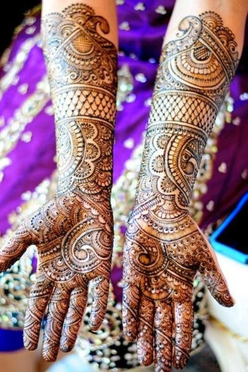 Dulhan Mehndi Designs 2014 | Bridal Mehndi Designs 2014 for Girls