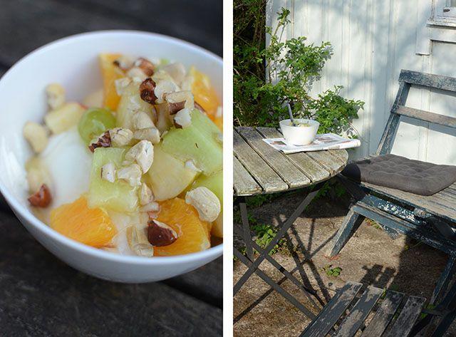 Somrig frukost med drömmar om semester   Hemma med Helena @Helena Lyth
