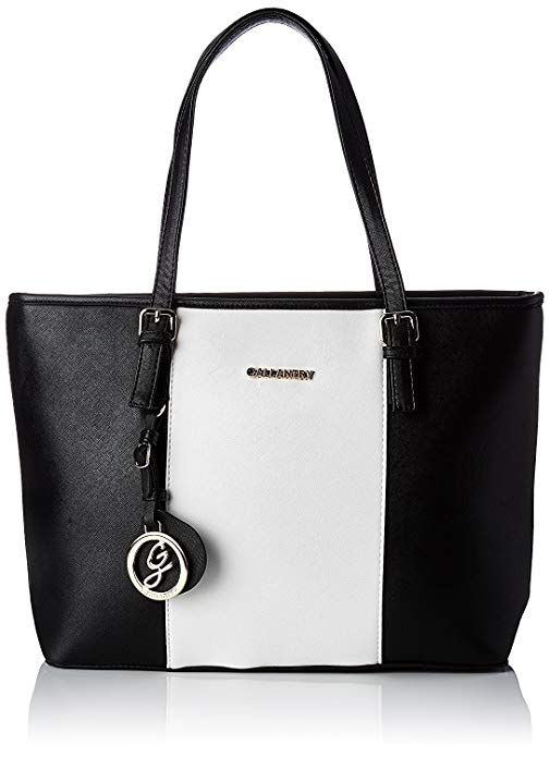 c57e190be Gallantry - Sac de cours Cabas FEMININ (Noir/Blanc/Noir) #dame #bag #femmes  #sacàmain #bags #damenmode #france