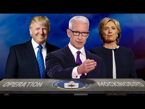 CIA TO RUN SECOND PRESIDENTIAL  DEBATE!!! AGENT ANDERSON COOPER TO COVER IT.. YOUTUBE