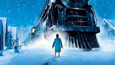 """""""The thing about trains...it doesn't matter where they're going. What matter is deciding to get on.""""  - The Polar Express"""