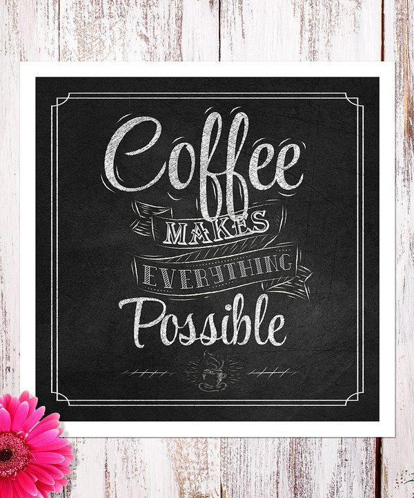 'All Things Are Possible' Print by Heart of the Home #zulily #zulilyfinds