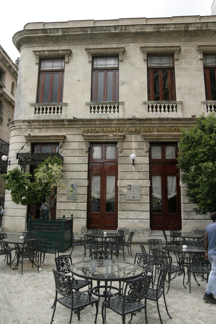 Cafe in the heart of La Habana