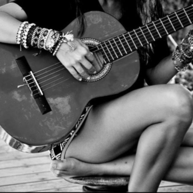 spanish guitar....