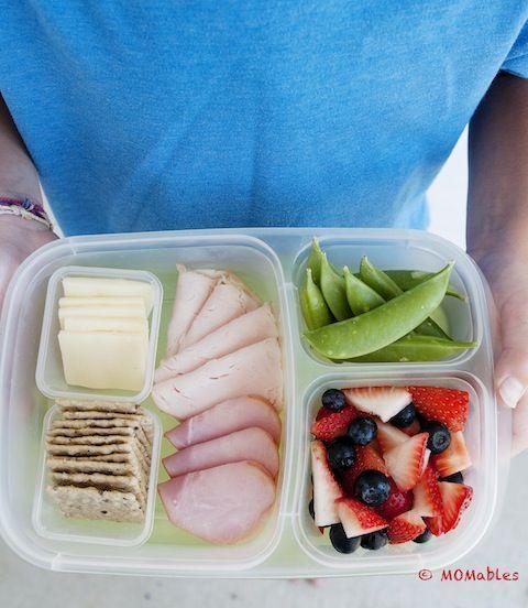 Homemade Deli Box MOMables.com #lunchrevolution