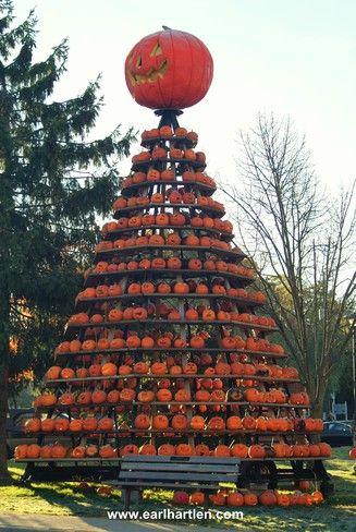 Waterford, Ontario Pumpkinfest in October
