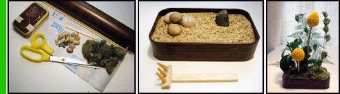 Acciughe Zen I contenitori di alluminio delle sardine oppure i contenitori di latta per biscotti possono diventare dei giardini zen di alto valore decorativo e, visto l'approssimarsi della festa della mamma, possono essere un pensiero carino per le nostre mamme. L'occorrente per questa creazione sono: due contenitori di alluminio delle sardine, gommapiuma da fioristi, muschio, bastoncini di legno, colla, sabbia sottile, pietre di piccole dimensioni, uno o piu' fiori secchi, nastro adesivo di…