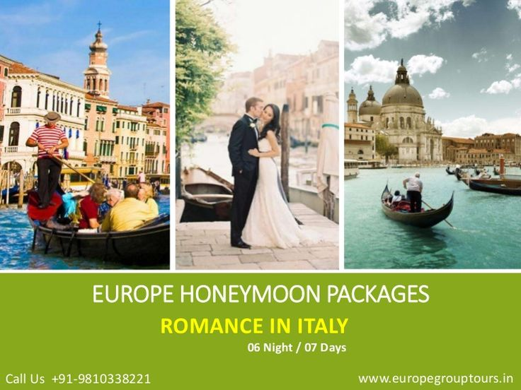 #EuropeHoneymoonPackages  #ItalyHoneymoon  #ItalyTours Europe Group Tours offers Best #HoneymoonPackages for Italy from Delhi India with all inclusive resorts, hotels and cover all romantic destinations, sightseeing and most romantic places in Italy.
