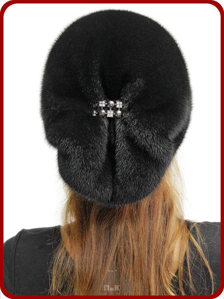Шапка Даяна - Женские шапки - Из меха норки