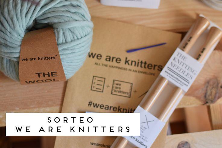 Sorteamos Kit de tejido con We Are Knitters