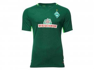 2017 cheap jersey werder bremen home replica green shirt