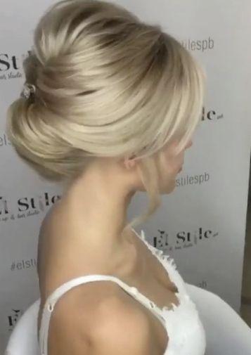 Wedding Hairstyle Inspiration – Elstile        #Elstile #Hairstyle #Inspiration …