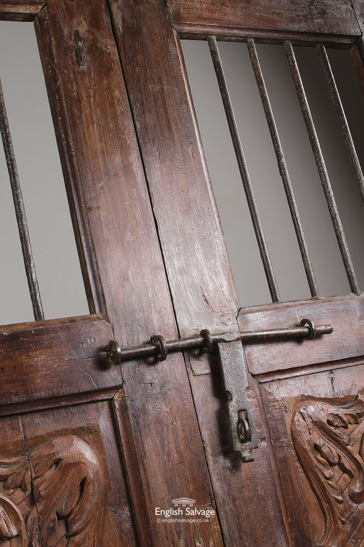 1000 images about reclaimed doors on pinterest antiques for Door design steel jali