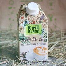 KING ISLAND Кокосовые сливки для кофе. Вегетарианская еда