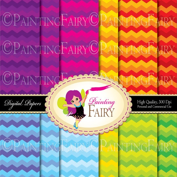 Buy 2 get 1 Free Rainbow chevron digital paper Colorful background Vibrant color printable DIY Paper pack Personal Commercial Use  by PaintingFairyClipart, $3.99  Supplies Scrapbooking Paper stationery packaging chevron design party handmade invitations wrapping paper sheet happy summer pattern fun birthday rainbow circus gift wrap sky girl boy kid pattern designer resource cu sea scrapbooking set paper goods carnival red orange yellow green blue purple
