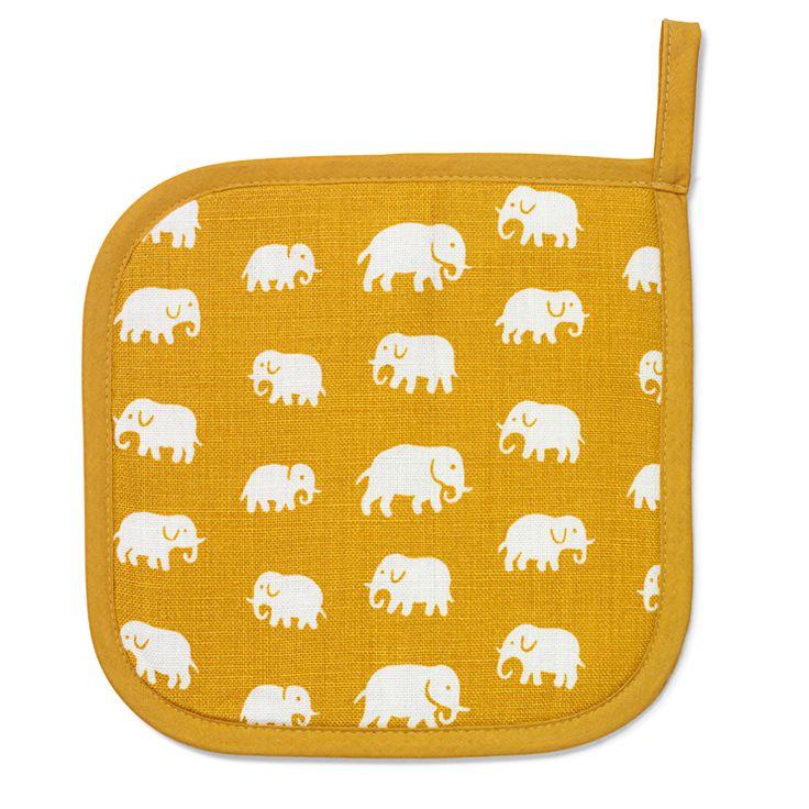 Pot Holder Elefant Linen: Elephants Pots, Pots Holders, Elefant Linens, Holders Elefant, Слоник Elephants, Elefant Pots, Linens Size, Pot Holders, Products