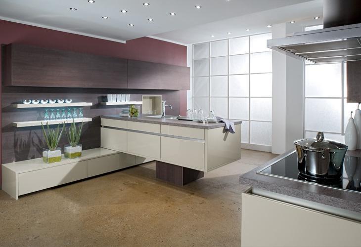 #Küche In Creme #Kücheninsel Www.dyk360 Kuechen.de