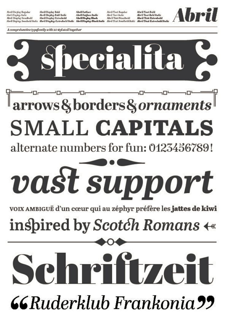 Gold Award for Abril by TypeTogether (2012)