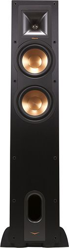 "Klipsch - Reference Dual 6-1/2"" Floorstanding Speaker (Each) - Black"