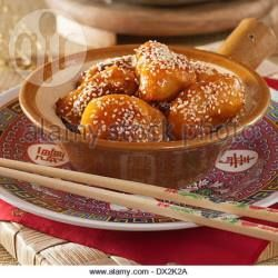Recipe photo: Chinese Toffee Apple Fritters