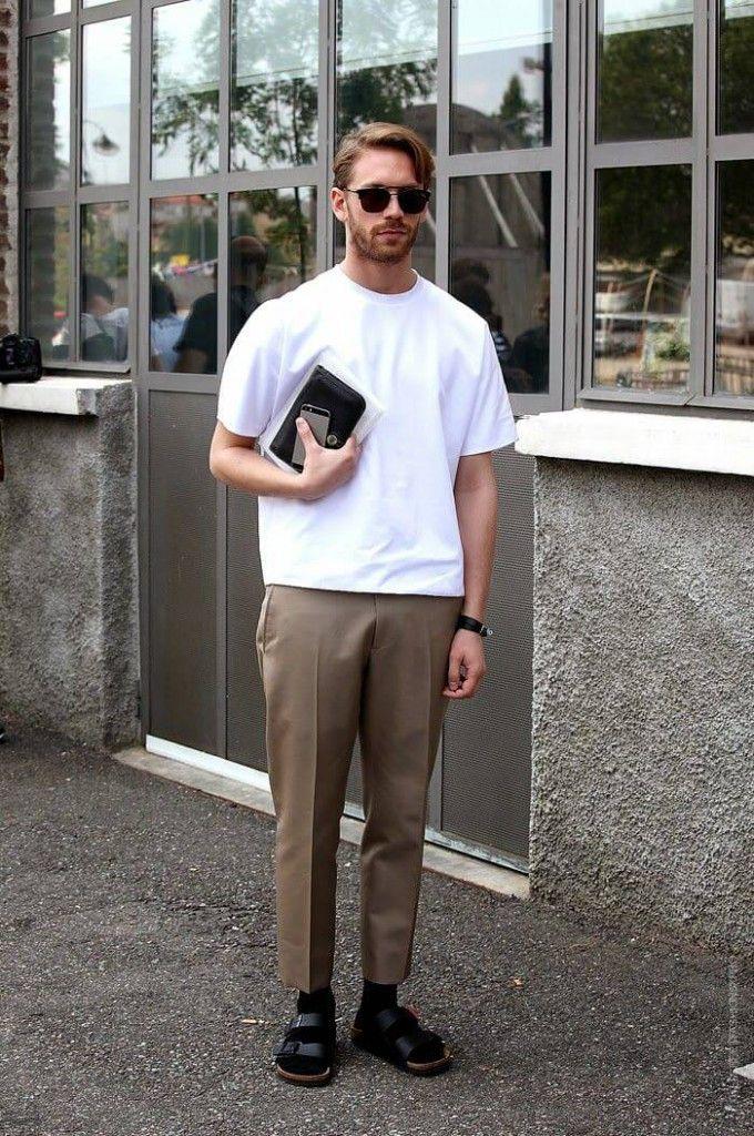 「話題の「ノームコア」なら断然白Tシャツがおすすめ!<メンズ編>」の画像