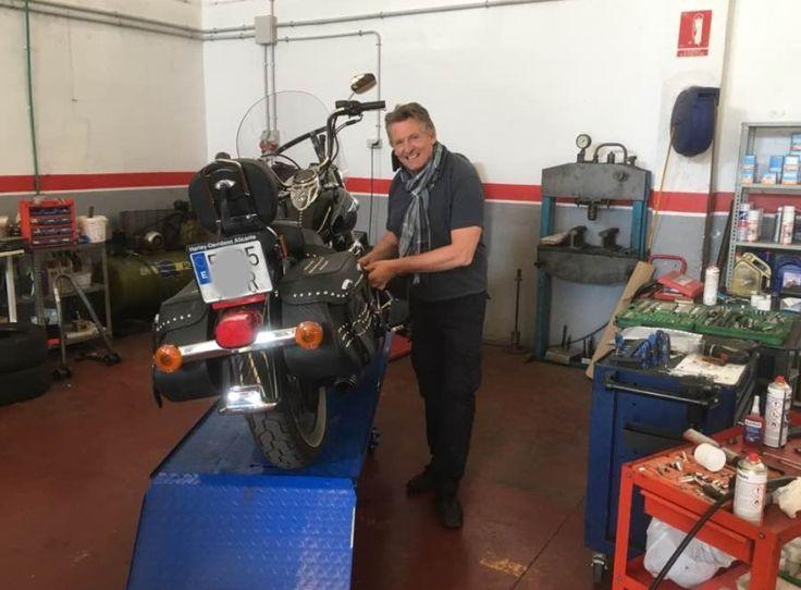 #harley #harleydavidson #moto #tallermoto #campello  servicio harley davidson taller mecanico alicante