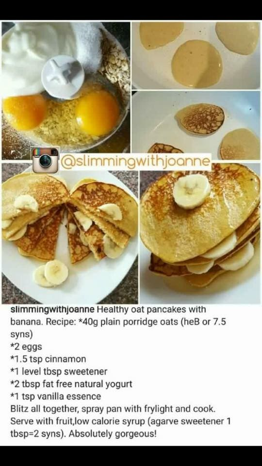 Slimmingworld oaty pancakes