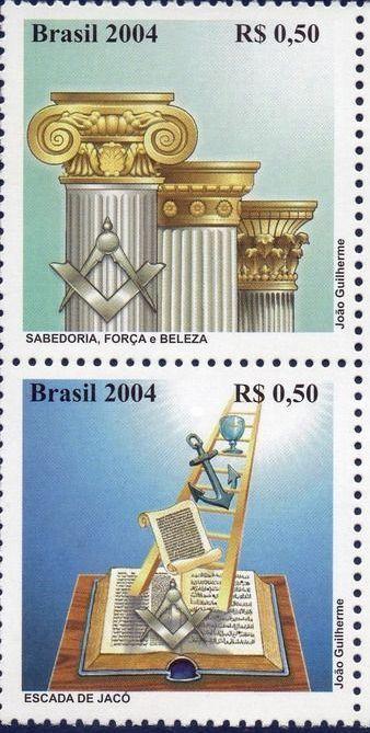 Brazilian Masonic Stamps