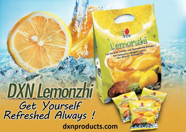 DXN Lemonzhi: refreshment with health benefits of Ganoderma. DXN webshop: http://dxnproducts.com/product-category/food-and-beverages/