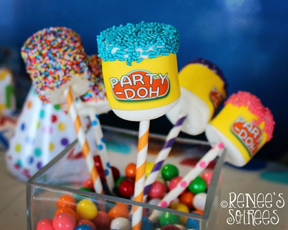 Welcome to Renees Soirees! This colorful Play-Doh-inspired Collection is a great way to decorate your play clay birthday party. Works for boys OR