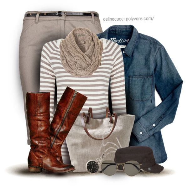 Fall Outfit, created by celinecucci on Polyvore