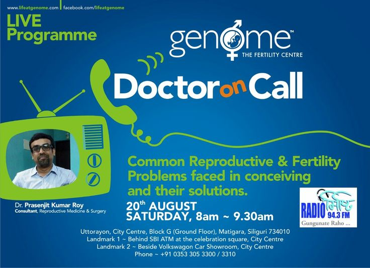 Common Reproductive & ‎#Fertility Problems faced in conceiving and their solutions. Tune in :)