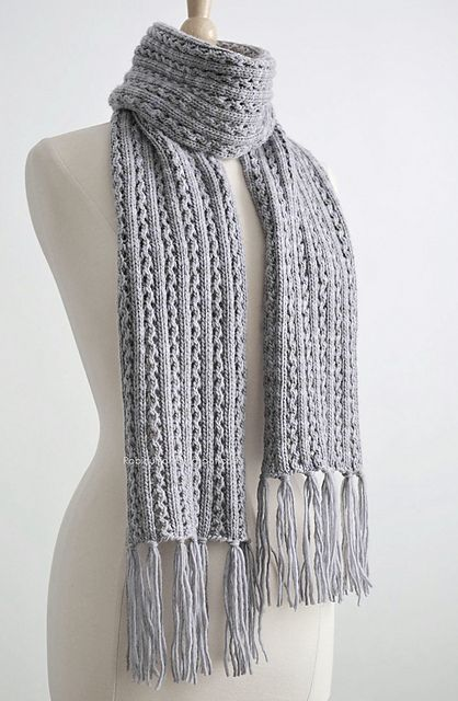 Free Knitting Patterns Scarves Pinterest : Frostlight by Robin Ulrich Free Knitting Patterns (Scarves) Pinterest F...