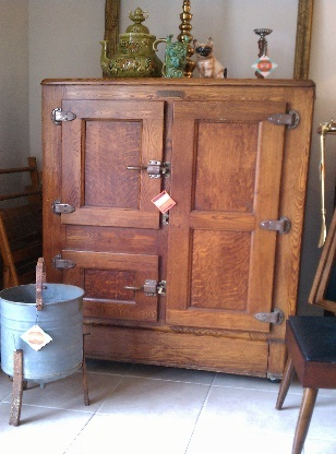 81 best ANTIQUE ICE BOXES images on Pinterest