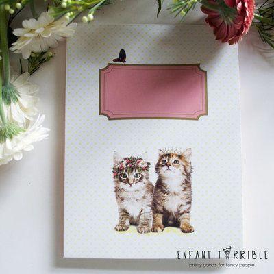 Writing Set Enfant Terrible | Kitten