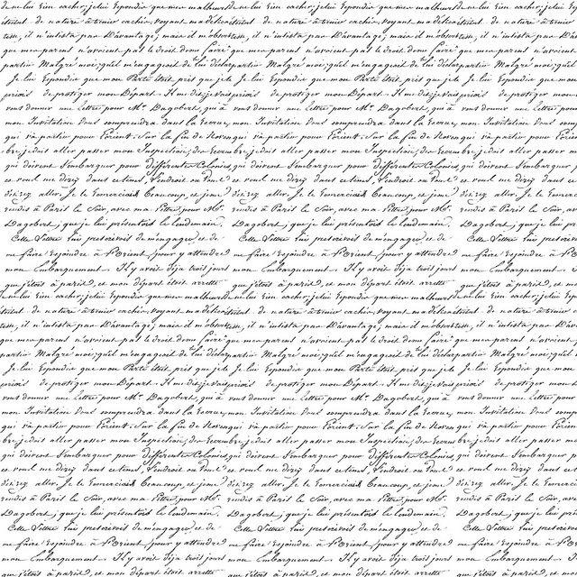 French script printable -- pour faire un beau fond de page