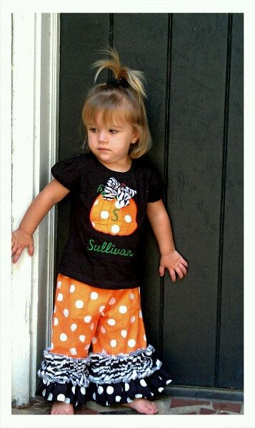 Halloween Outfit sizes New Born up to size 10 Long or Short Sleeve shirt on Etsy, $35.00