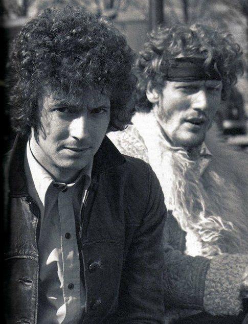Eric Clapton & Ginger Baker / Cream / classic rock