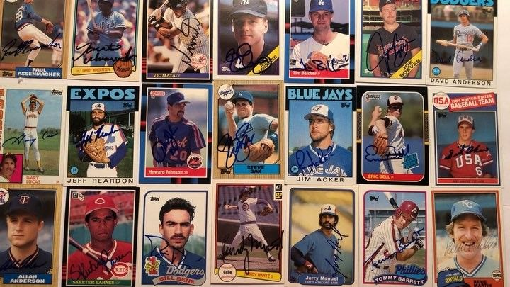 80s AD of the Day:  MLB Autographed Baseball Cards  #MLB BaseballCards #Baseball #Autograph #Mets #Yankees #RedSox #Dodgers #Cubs #Giants #Padres #Expos #Cardinals #Brewers  #Reds #Pirates #Tigers #Astros #BlueJays #Orioles #Retro #OldSkool #OldSchool #Retro #Classic #Vintage #1980s #80s #80sThen80sNow