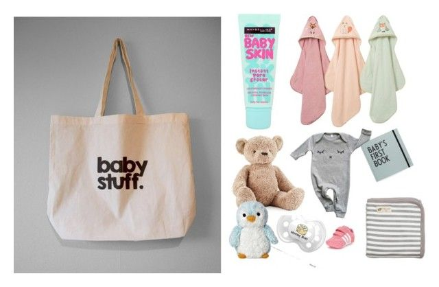 Baby Stuff by bykidesigns on Polyvore featuring Maybelline, Monica + Andy, adidas Originals, Jellycat and Organic Zoo